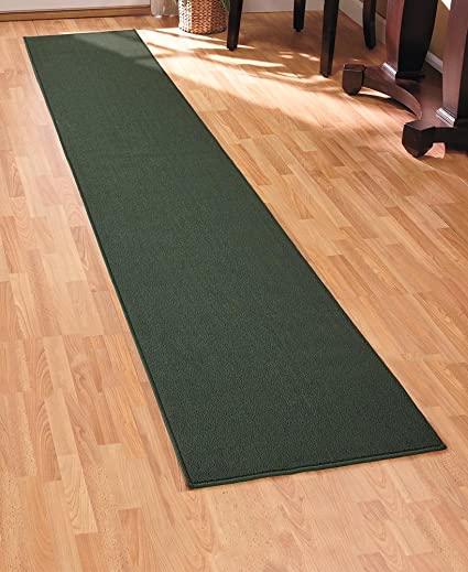 Hunter Green 60u0026quot; Extra Long Nonslip Floor Runners