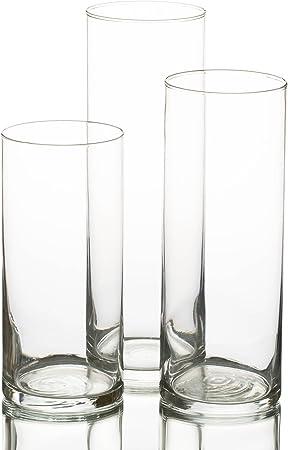 Image ofSet of 36 Eastland Cylinder Candle Vase