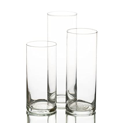 Amazon Eastland Cylinder Floating Candle Vase Set Of 36 Home