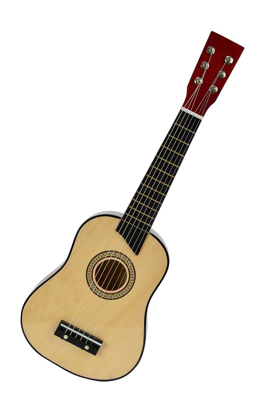 Simba 106831468 - My Music World Holzgitarre 64 cm Simba Toys