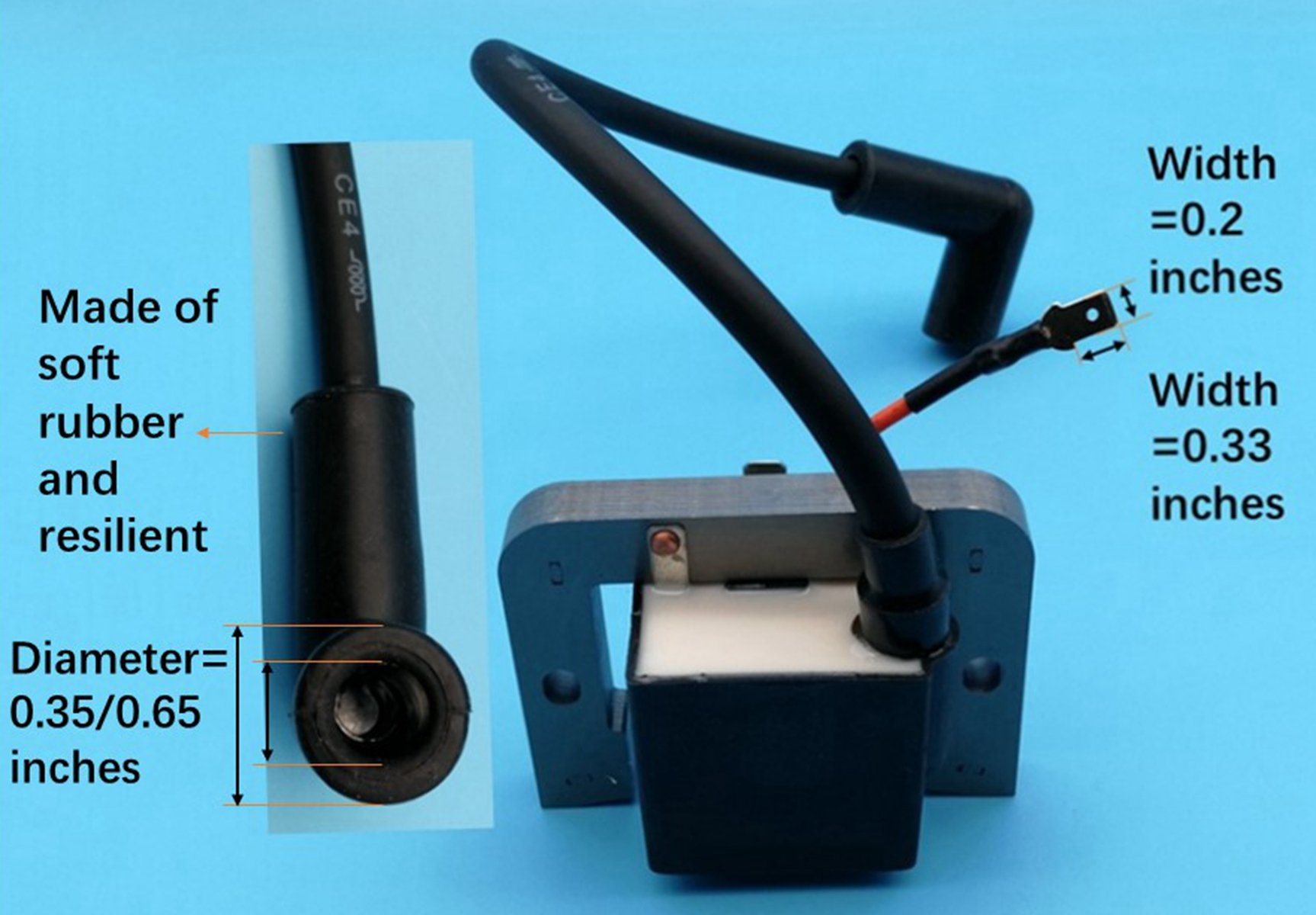 Generic Ignition Coil for Kohler Engine CH22 CH25 CV22 CV23 CV25 ...