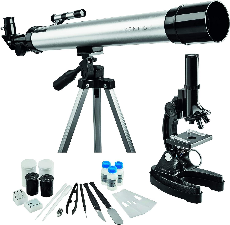 Zennox Refraktor Teleskop 50 X 600 Mit 100 Facher Kamera