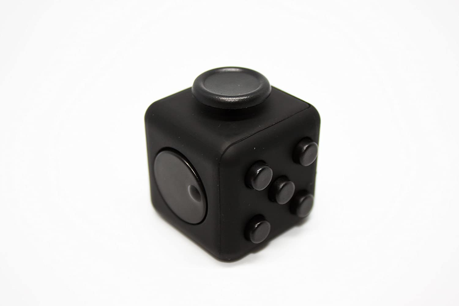 Sensory Toy for Adults and Children Orion De-Stress Ball and Anxiety Cube Black