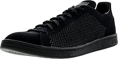 new arrival 2d1d4 242da adidas Stan Smith Primeknit Mens in Black, 7.5