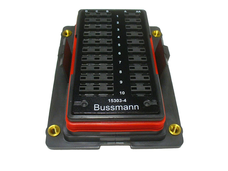 Bussmann Fuse And Relay Box Waytek Wiring Waterproof Amazon Com 15303 4 0 Rtmr Panel Terminal