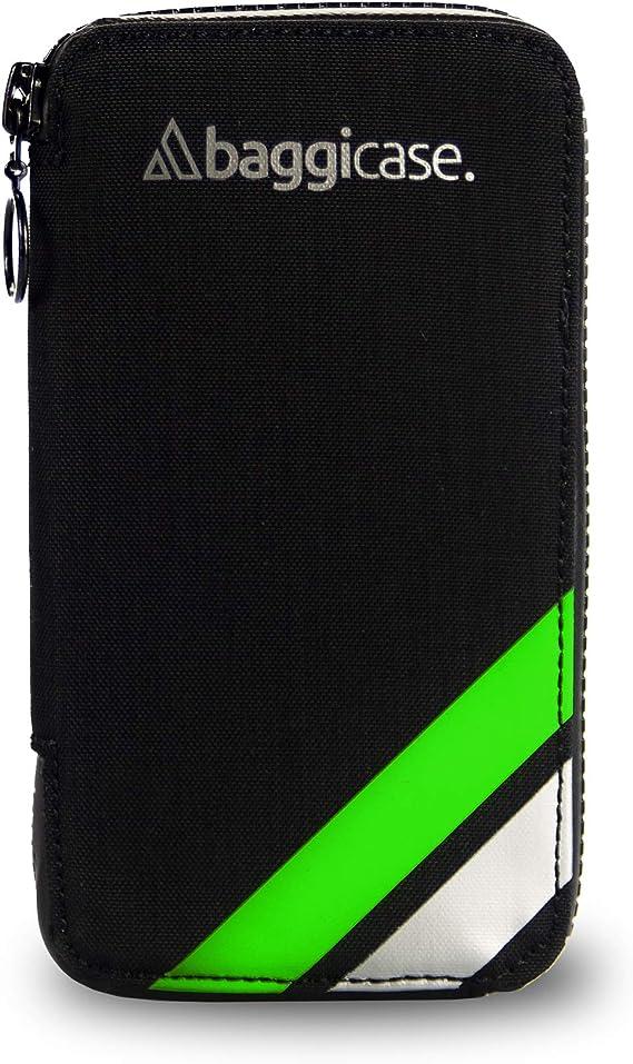 Baggicase, La Funda Impermeable para el móvil y Las pertenencias del Ciclista. Disponible en Tallas S (14x7,6cm), M (15x7,9cm) y XL (16,3x8,5cm) y 8 Colores.: Amazon.es: Deportes y aire libre