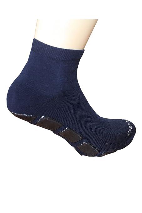 Weri Spezials - Calcetines con suela antideslizante, color azul marino azul azul marino Talla: