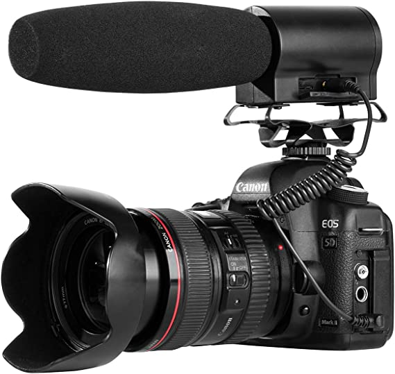Grey I3ePro BP-CMIC1 X-Series Mini Shotgun Condenser Microphone for Sony Alpha A380L Digital SLR Camera