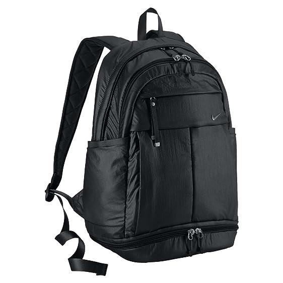 baf1df27af2c7 Amazon.com  Nike Victory Carry All Backpack Book Bag-Black ...