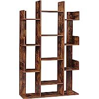 VASAGLE Librería en Forma de Árbol, Estantería con 13 Compartimentos, Armario de…