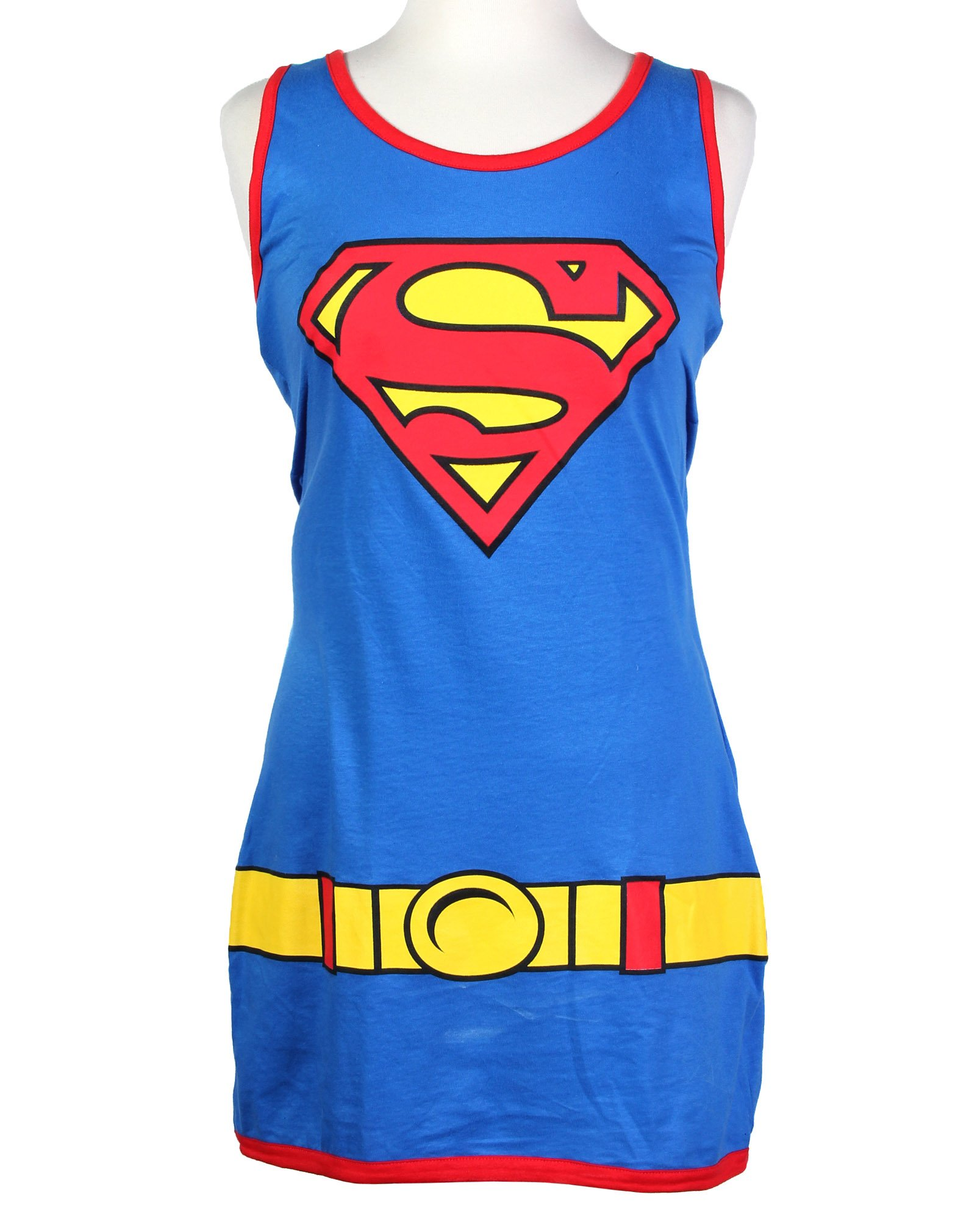 DC Comics Batman Super Girl Character Juniors Tank Dress (Small, Super Girl) by DC Comics (Image #2)