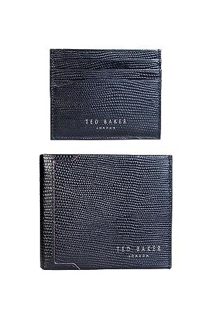 c089c7b86 Ted Baker Gekko Wallet Set in Black - Black -  Amazon.co.uk  Clothing