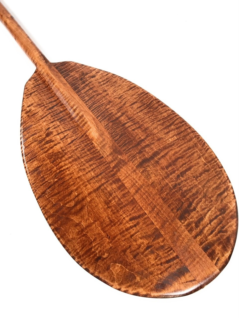 Decorative Hawaiian Outrigger Paddle 50'' w/ T Handle - Maple | #koa6081