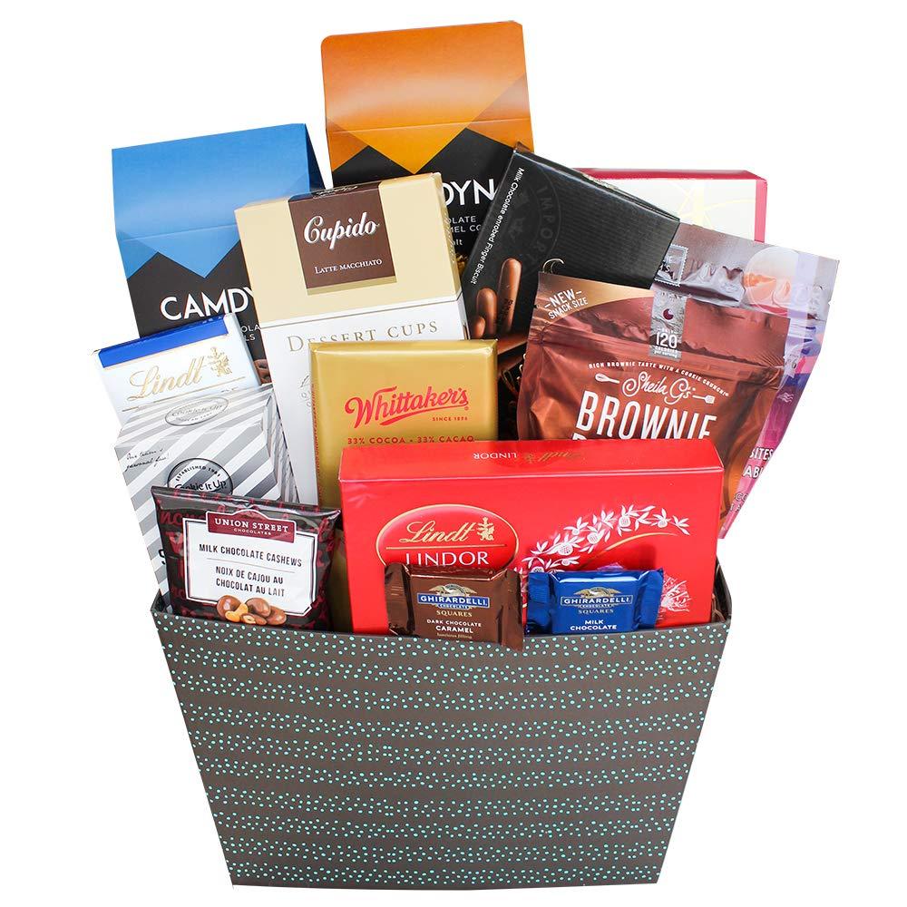 CDM product Large Chocolatey Goodness Gift Basket big image