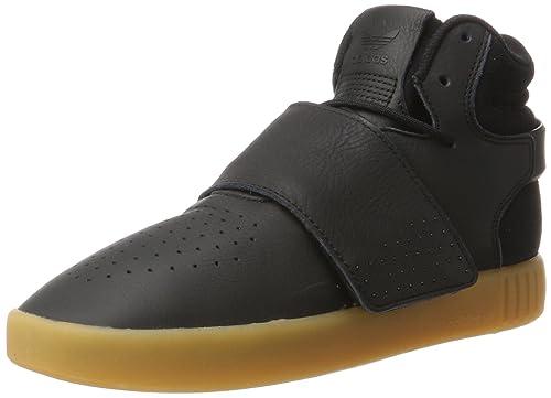 1e5457f66cc adidas Unisex-Erwachsene Tubular Invader Strap Hohe Sneaker, Schwarz (Core  Black/Gum