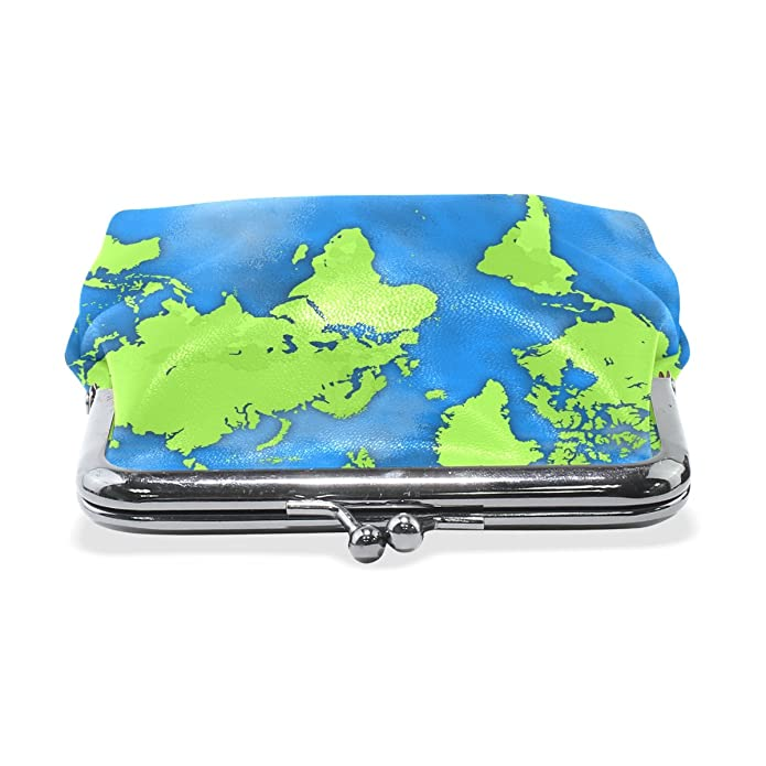 Amazon.com: Coin Purses Africa World Map Buckle Vintage ...