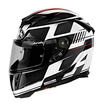 Airoh Casco de Moto GP de 500, color Negro (First Negro), talla