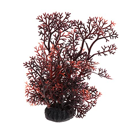Exing Water Grass - Adorno para pecera, Acuario, Plantas Artificiales, Coral