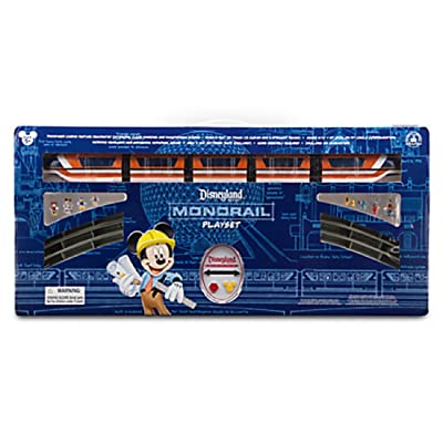 Deluxe Upgraded Remote Controlled Monorail Play Set - Disneyland Theme Park Exclusive - Limited Availability: Toys & Games