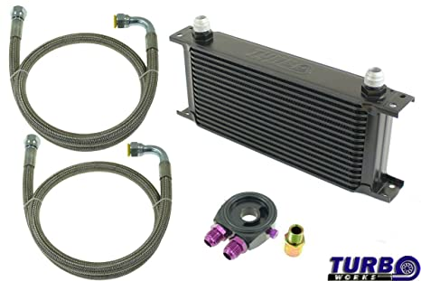 Deporte Temperatura de aceite kit cn-oc-011 16-rows 260 x 125