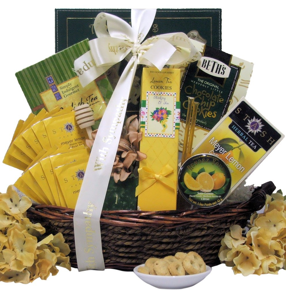 Amazon.com : Great Arrivals Sympathy Gift Basket, Thinking of You : Gourmet Snacks And Hors Doeuvres Gifts : Grocery & Gourmet Food