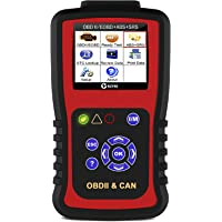KZYEE KC501 Professional SRS Airbag Code Reader ABS OBDII Scanner Automotive Check Engine Light Diagnostic Scan Tool