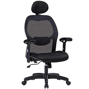 Amazon Com Mboo Ergonomic Office Chair High Back Executive Swivel