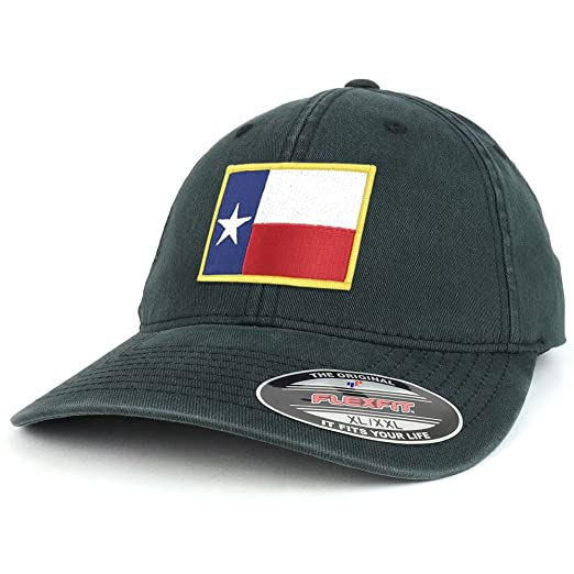 f65f746500d94 ... purchase armycrew xxl oversize washed texas state flag iron on patch  flexfit cap black 9e5eb 9cf37