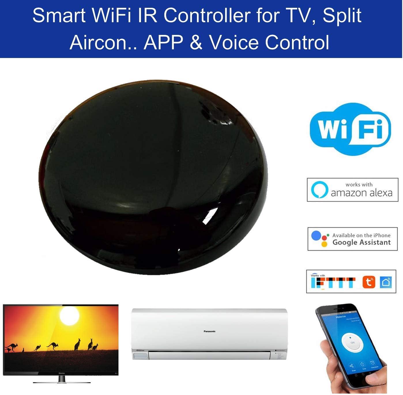 WiFi Controlador inteligente de radiación infrarroja Para Alexa y ...