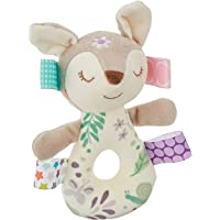Taggies Embroidered Soft Ring Rattle