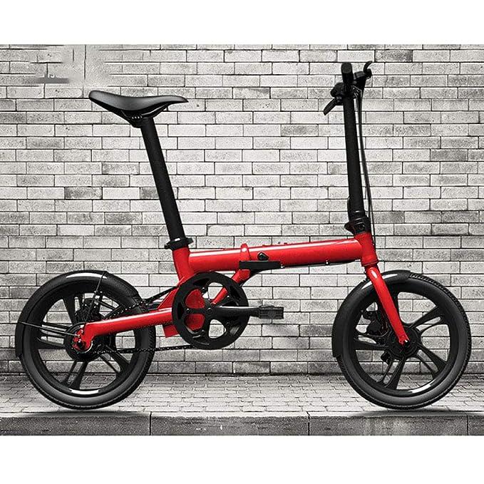 Unisexo Bicicleta electrica Aleación de aluminio Bicicleta hibrida ...
