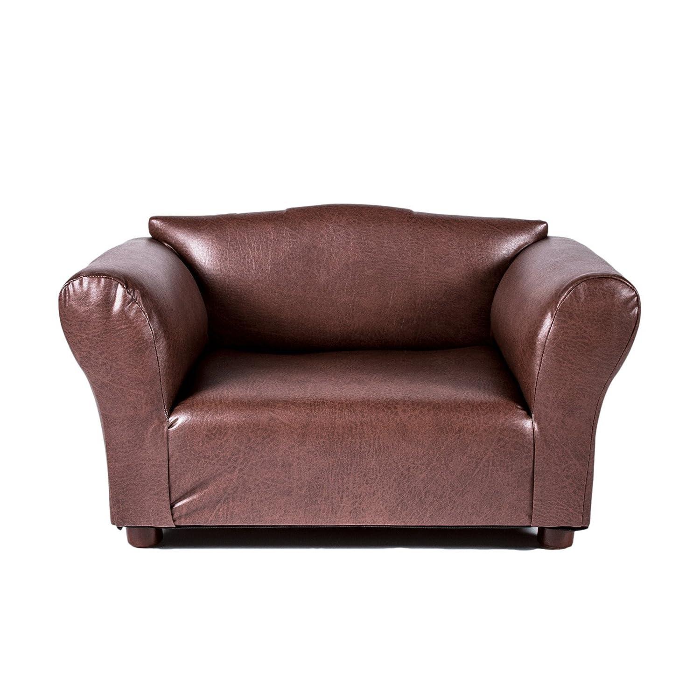Amazon Mini Sofa Brown Leatherette Pet Bed Pet Couch Pet
