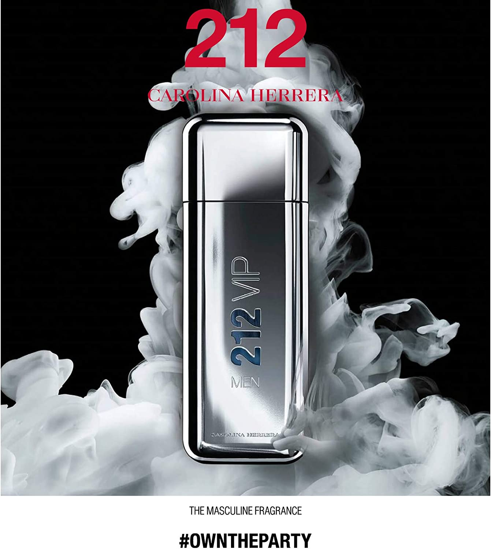 Carolina Herrera 212 Vip Men Agua de Tocador Vaporizador - 200 ml: Amazon.es: Belleza