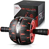 NANYNNU Ab Roller Wheel Abs Workout - Abs Roller Exercise Equipment,Ab Wheel Roller for Home Workout Equipment,Fitness Ab Roller for Core Workouts,Home Abdominal Exercise Equipment for Man and Women