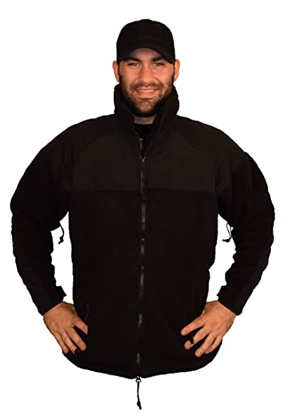 Military Black PolarTec 300 Fleece Jacket at Amazon Men's Clothing ...