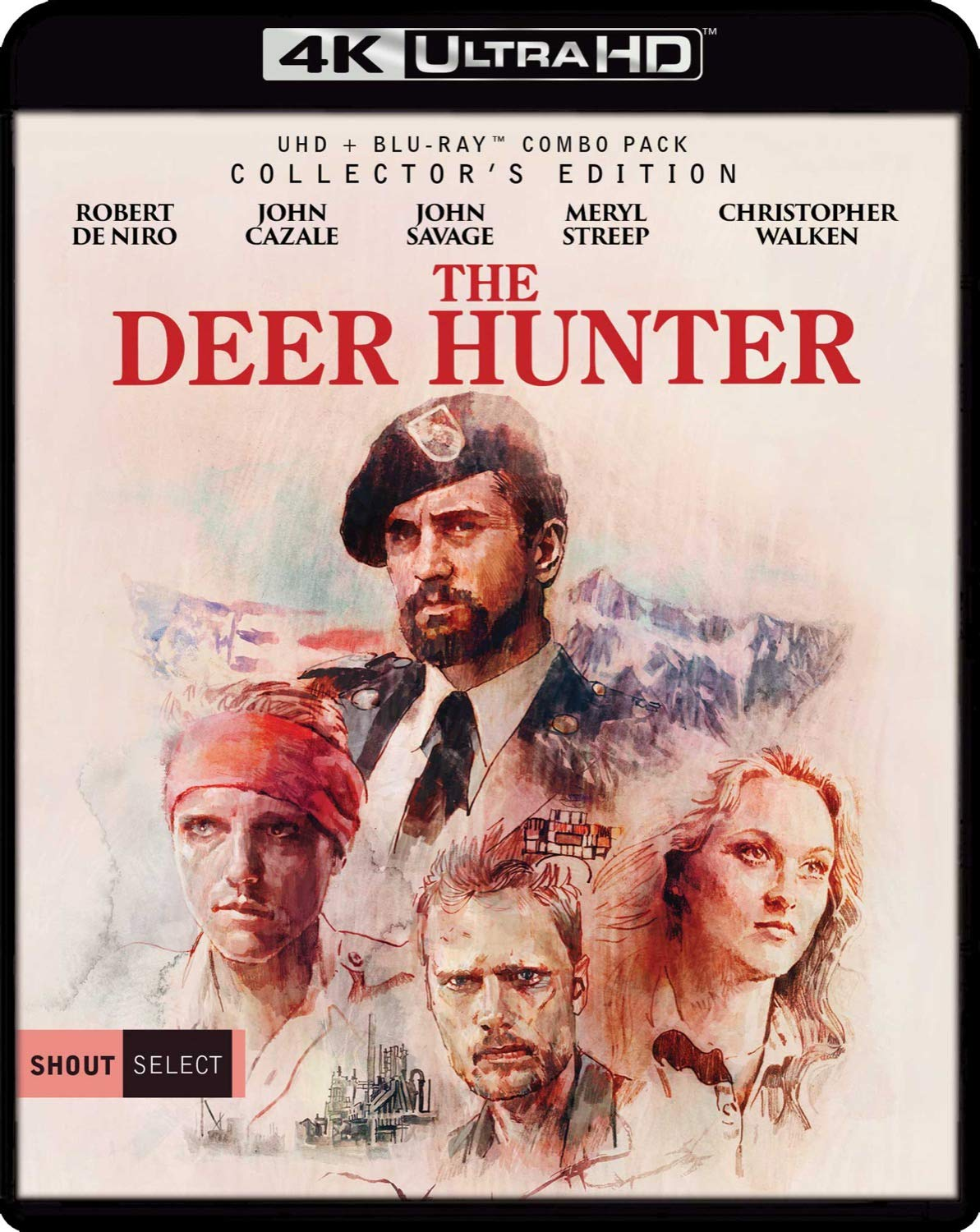 The Deer Hunter [USA] [Blu-ray]: Amazon.es: Niro, Robert de, Walken, Christopher, Savage, John, Cazale, John, Streep, Meryl, Dzundza, George, Aspegren, Chuck, Cimino, Michael, Niro, Robert de, Walken, Christopher: Cine y Series TV