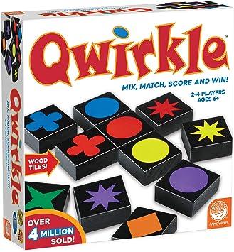 Brain Box - Qwirkle, Juego de Mesa en inglés (M32016): Mindware, Mindware: Amazon.es: Juguetes y juegos