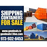 20ft NEW One Trip General Purpose Steel Shipping Container / Secure, Large, Outdoor, Portable Storage Shed / 20' Cargo Container / Container Home / Emergency Shelter / Vacation Home