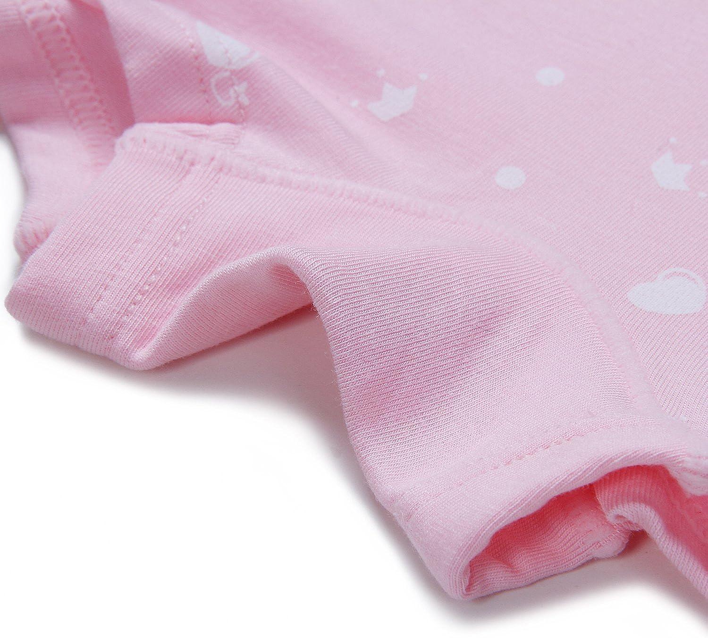 Pacco da 5 Ateid-Boxer Cotone Mutande Nella Casella Bambina Ragazza 2-8 Anni