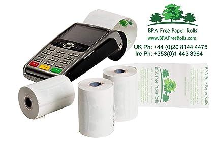 Mundial pagos con tarjeta iWL220 sin BPA crédito Rolls (50 rollos ...