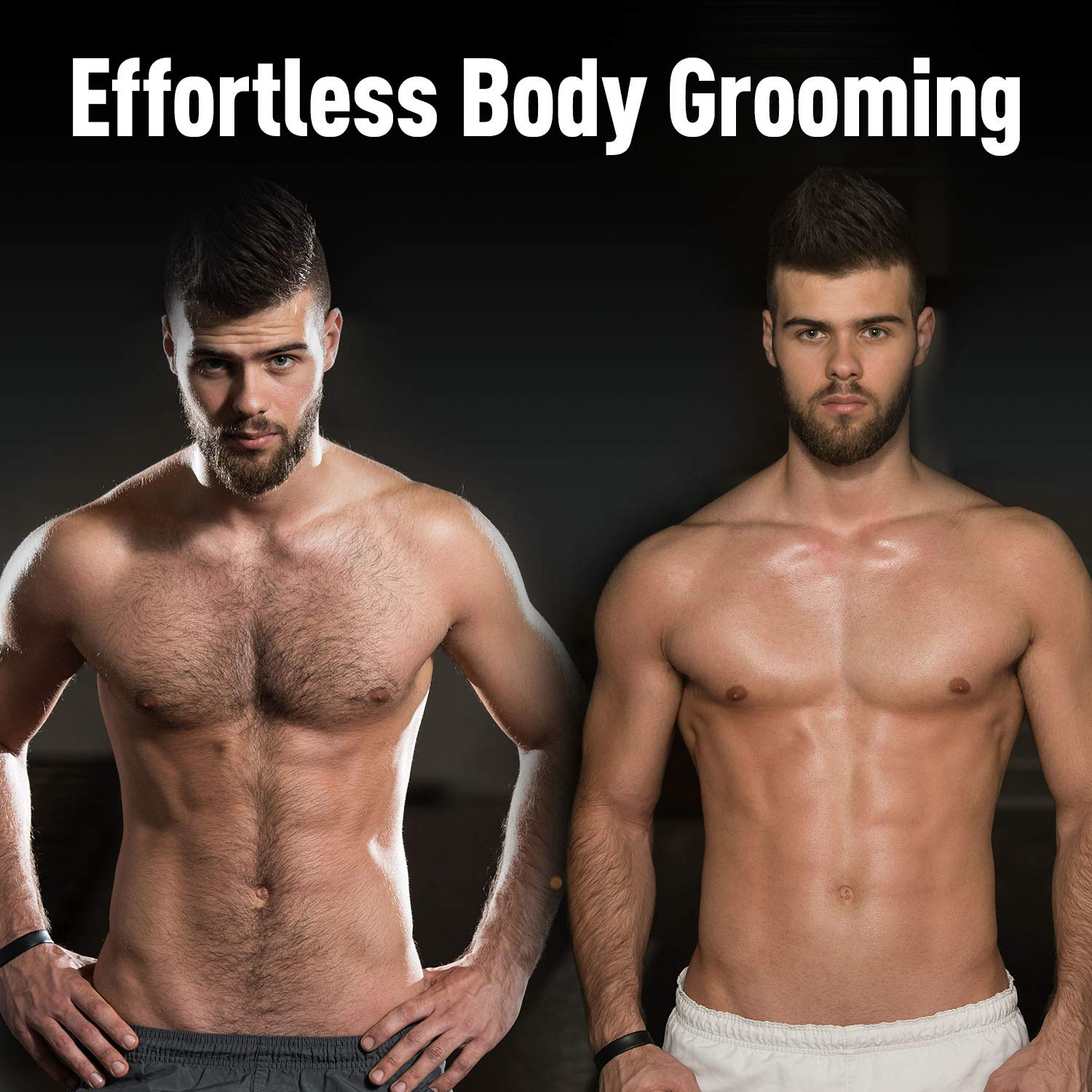 Panasonic Cordless Electric Body Hair Trimmer with Waterproof Design, ER-GK60-S by Panasonic (Image #8)