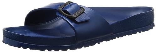 Birkenstock - Zapatillas de estar por casa para hombre azul 4NUJ2kt4o