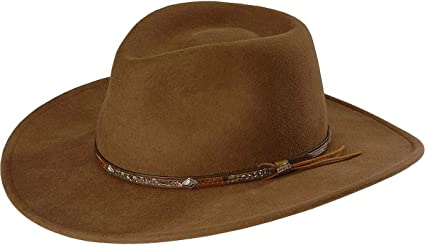 XXLarge Stetson Mens Wildwood Crushable Hat Acorn