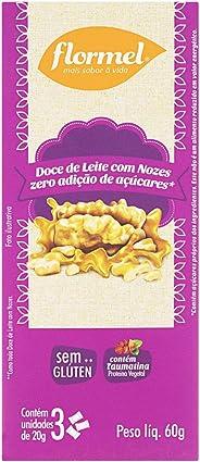 Doce de Leite com Nozes Zero Flormel 60g