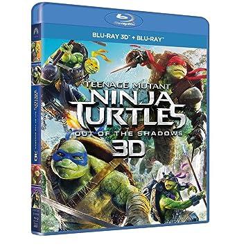 Tartarughe Ninja 2: Fuori dallOmbra Blu-Ray 3D + Blu-Ray ...