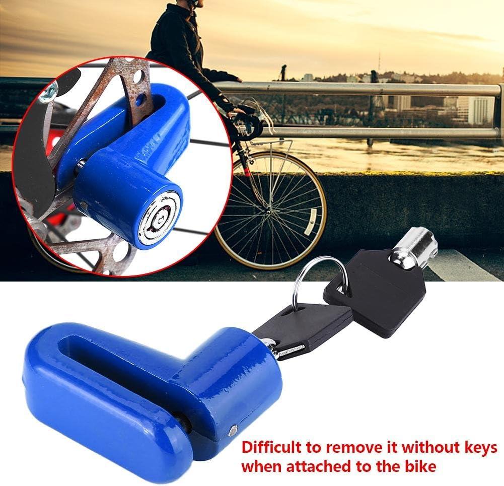 VGEBY1 Bike Disc Brake Lock 3 Colors Metal Anti Theft Lock Bike Safety Device with Keys