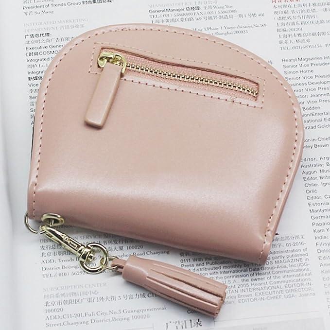 Billetera Cartera Corta para Mujer Simple Moda Retro Multiusos Monedero para Estudiantes Billetera,D: Amazon.es: Hogar