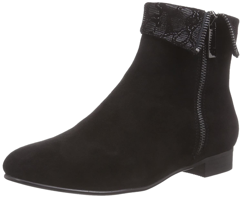 Giudecca JY1515-1, Damen Chukka Boots, Schwarz (Black), 36 EU