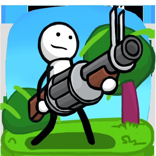 One Gun: Stickman (2d Games)