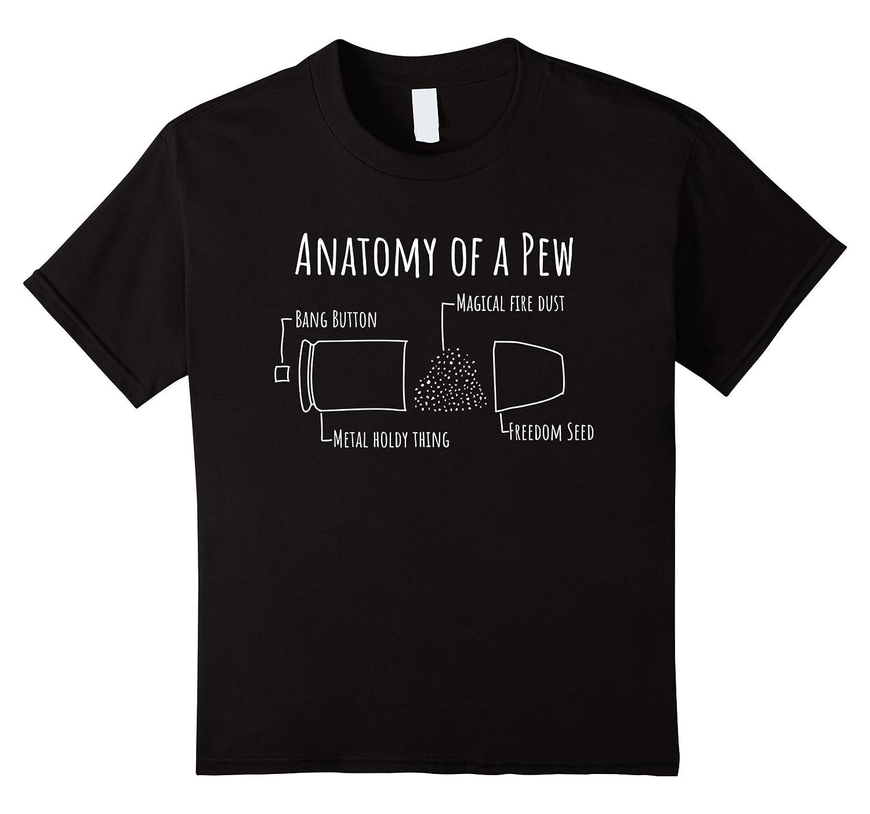 Mens Anatomy Pew TShirt Bullet-Tovacu